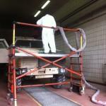 Reinigung Bundeswehrfahrzeug