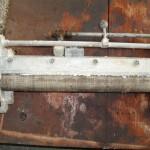 Komponente einer Klebevorrichtung 3 vor der Reinigung