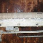 Komponente einer Klebevorrichtung 2 vor der Reinigung