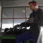 Reinigung einer Sondermaschine