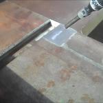 Reinigung einer Papierschneidemaschine