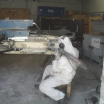 Reinigung von Maschinenbauteilen