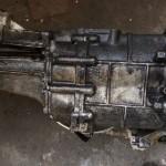 Maserati Getriebe vor der Trockeneisbehandlung
