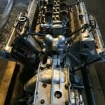 Maserati Motor nach der Trockeneisbehandlung