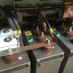 Elektronische-Bauteile in der Lok nach der Trockeneisreinigung 4