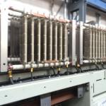 Elektronische-Bauteile in der Lok nach der Trockeneisreinigung
