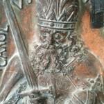 Kaiser Karl vor der Trockeneisdusche