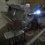 Reinigung Brotschneidemaschine