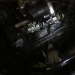 Motoransicht vor der Trockeneisreinigung 2