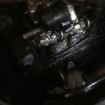 Motoransicht vor der Trockeneisreinigung 3