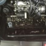 Motoransicht nach der Trockeneisreinigung 1