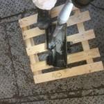 Motoransicht während der Trockeneisreinigung 1