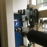 Papierverarbeitungsmaschine nach Trockeneisreinigung