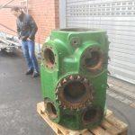 Kompressorzylinder vor der Reinigung